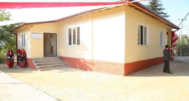 Şaphane'nin İnceğiz köyüne muhtarlık binası