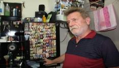Artvinde bir berber yıllardır Artvinde ölen herkesin fotoğraflarını topluyor