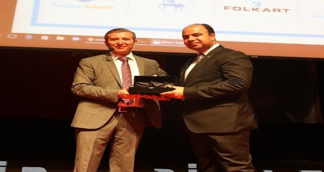 Şanlıurfa büyükşehir belediyesine  kültür ödülü verildi