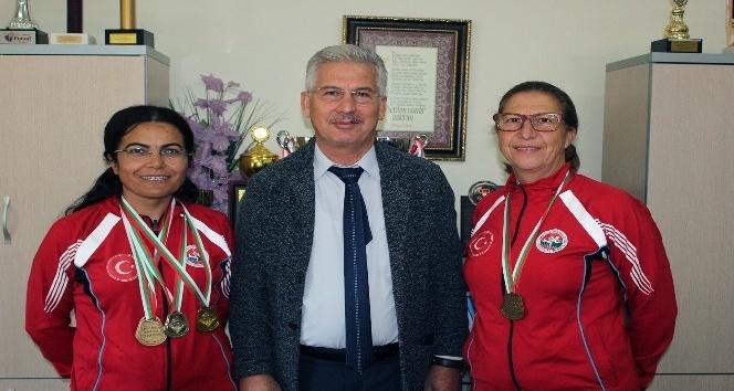 Bulgaristan'dan Muğla'ya Madalyalarla Döndüler