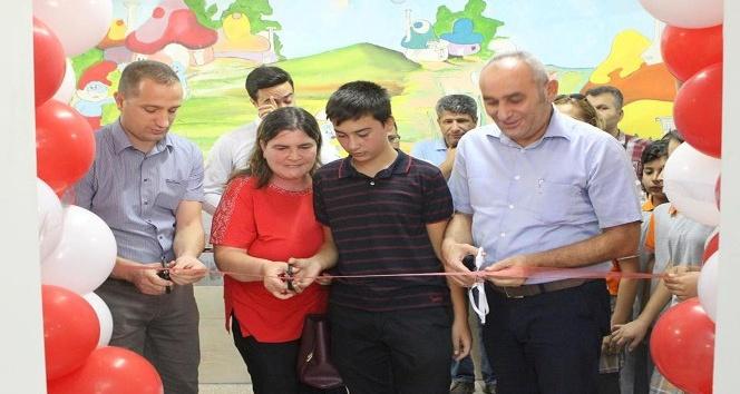 Mut'ta zenginleştirilmiş z-kütüphane açıldı