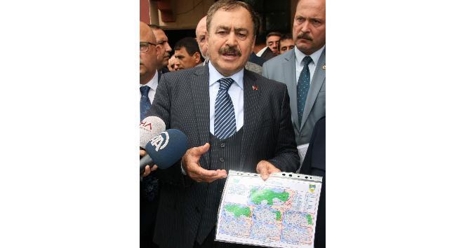 """Bakan Eroğlu'ndan yağış uyarısı: """" Türkiye'de büyük yağışlı bir döneme girdik"""""""