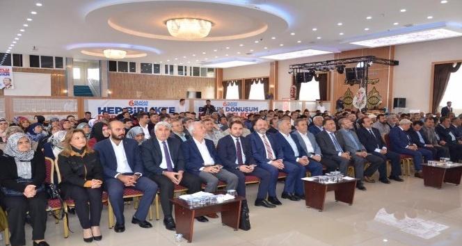 Altıntaş'ta AK Parti'nin yeni ilçe başkanı Cihangir Dönmez oldu