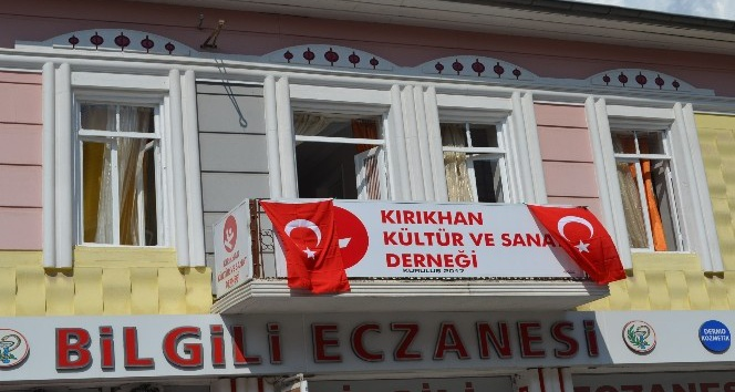 Kırıkhan Kültür ve Sanat Derneği açıldı