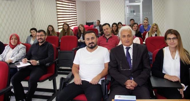 """Giresun'da """"Şirketler Muhasebesi"""" eğitim semineri düzenlendi"""