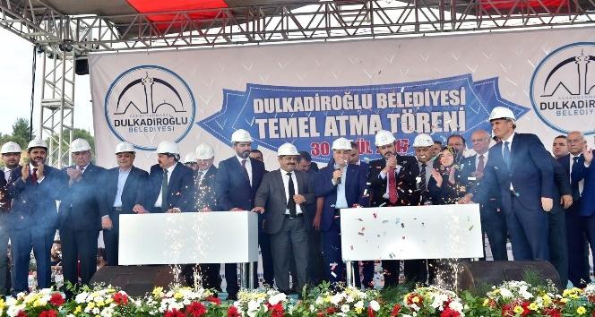 Kahramanmaraş'ta kamu külliyesinin temeli atıldı