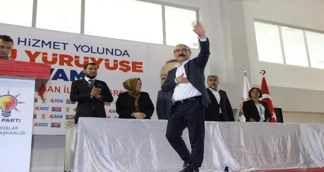 """Kalkınma Bakanı Elvan: """"AK Parti hareketi sadece milletten talimat alır"""""""