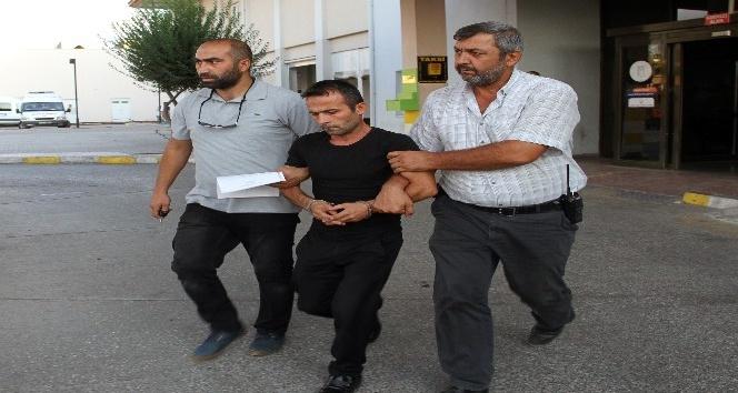 Eşinin yanındaki şahsı bıçaklayan zanlı tutuklandı