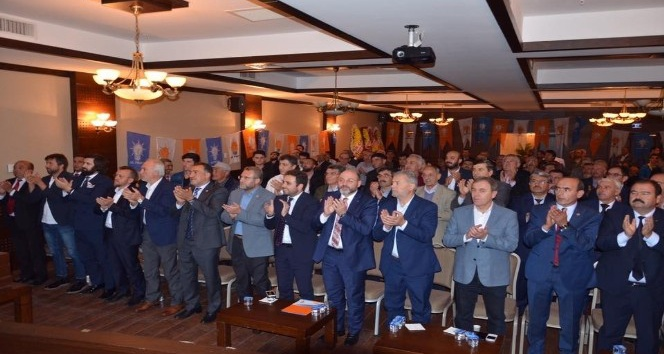 Çavdarhisar AK Parti'de kongre heyecanı