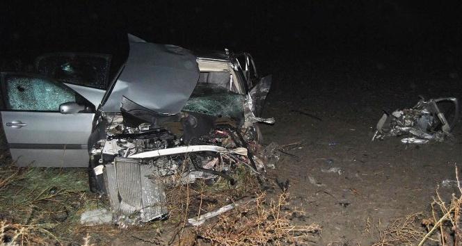 Tekirdağ'da trafik kazası: 2 ölü, 4 yaralı