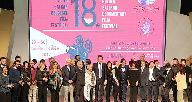 """""""Altın Safran Belgesel Film Festivali"""" ödülleri sahiplerini buldu"""