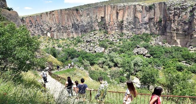 (Özel Haber) Ihlara Vadisi her yıl yarım milyon ziyaretçi ağırlıyor