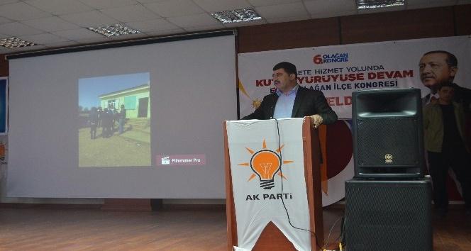 AK Parti Eğil ve Çınar kongreleri yapıldı