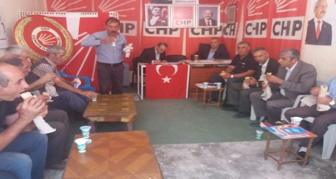 CHP Çüngüş 6'ncı olağanüstü kongresi yapıldı