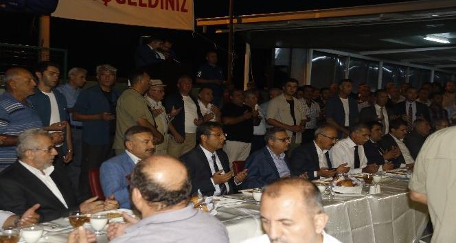 Akdeniz'de kardeşlik iftarı