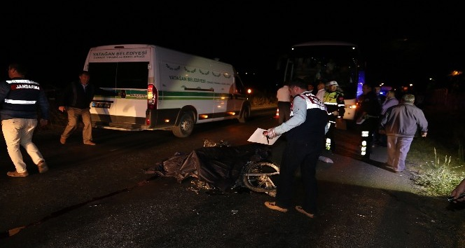 Yatağan'da yolcu otobüsü motosiklete çarptı: 1 ölü