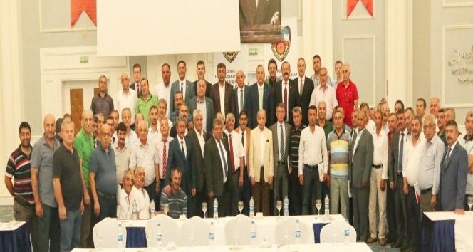 KONESOB esnaf odası başkanlarını bilgilendirdi