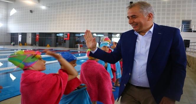 Büyükşehir kış spor okul kayıtları başladı