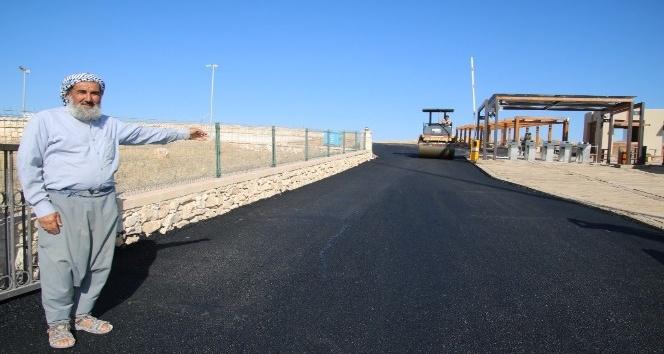 Tarihi Göbeklitepe tesislerinin yolları asfaltlanıyor