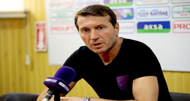"""Bayram Bektaş: """"Lider takımdan alınan 1 puan iyi bir puandır"""""""