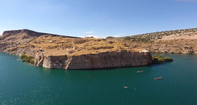 Tarihi Rumkale su sporu festivaline ev sahipliği yaptı