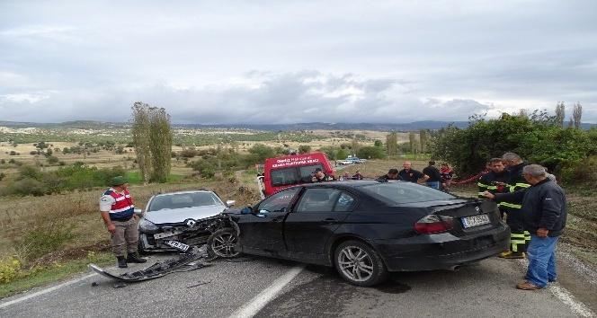 Hisarcık'ta trafik kazası: 1 ölü, 4 Yaralı