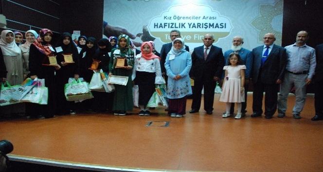 Kız Öğrenciler Hafızlık Yarışması Türkiye finali Adıyaman'da yapıldı