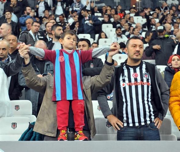 Beşiktaş Trabzonspor Maçından Kareler