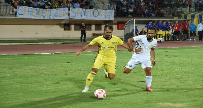 TFF 3. Lig: Tarsus İdman Yurdu: 0 - Osmaniyespor: 1