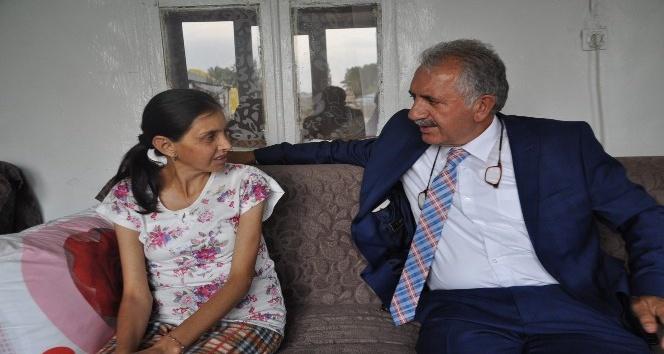 AK Partili vekilden 18 yıldır karaciğer nakli bekleyen genç kadına anlamlı ziyaret