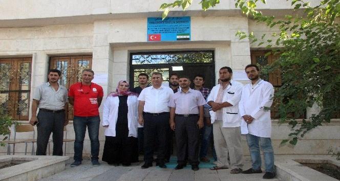 Türkmen kenti Çobanbey'in sağlığı Türkiye'ye emanet