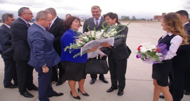 DHMİ Genel Müdürü Ocak'tan Koca Seyit'e ziyaret