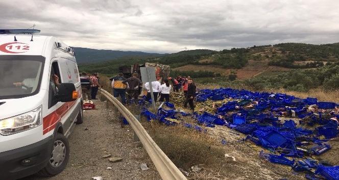 İki hafta içinde ayrı yerde 7 trafik kazası