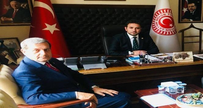 Başkan Özkan: Yatırım planlarımızı ve projelerimizi milletvekilimiz İshak Gazel'e sunduk