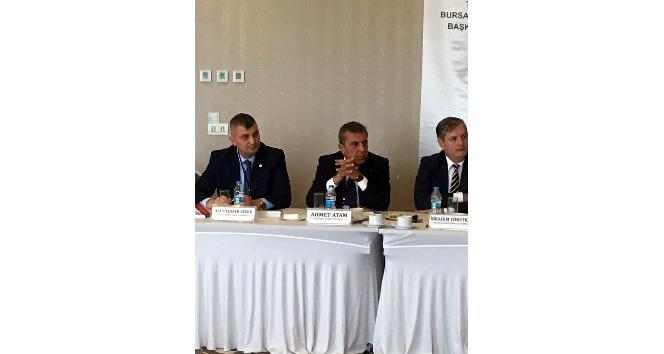Başkan Ahmet Atam: Avukatlar, dünyanın her yerinde o ülkelerin hukuk tarihini yazan tarihçilerdir