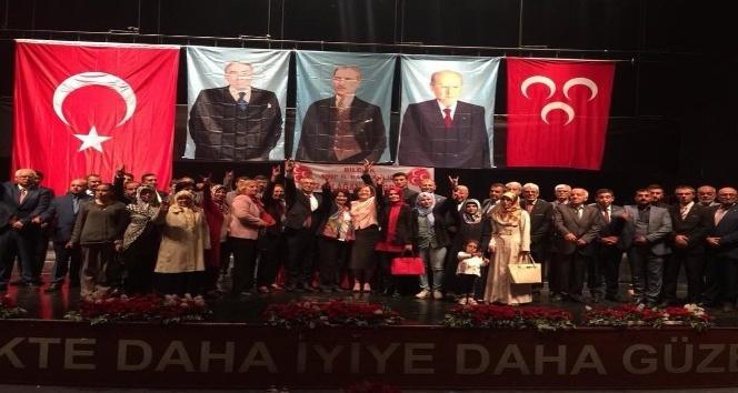 MHP Bilecik İl Başkanlığına Mehmet Karuk yeniden seçildi