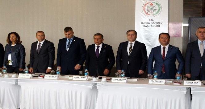 Başkan Ahmet Atam, 'Genişletilmiş Marmara ve Ege Bölge Baro Başkanları Toplantısı'na katıldı