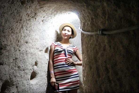 Kırkgöz Yeraltı Şehri ziyaretçilerini büyülüyor