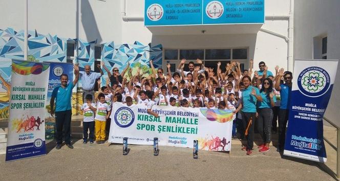 Kırsal Mahalle Spor Şenlikleri Başladı