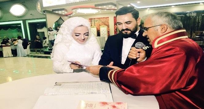 Bingöl'de evlilik oranı yüzde 11 arttı, 736 nikah kıyıldı