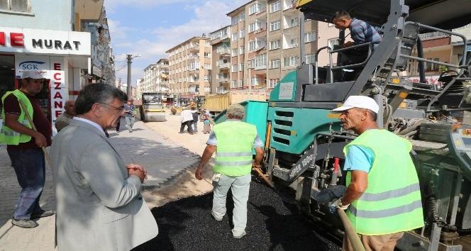 Suat Baykal caddesi hafta başında trafiğe açılıyor