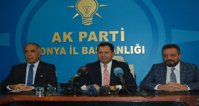 Milletvekili Altunyaldız, Türkiye ve Konya gündemini değerlendirdi