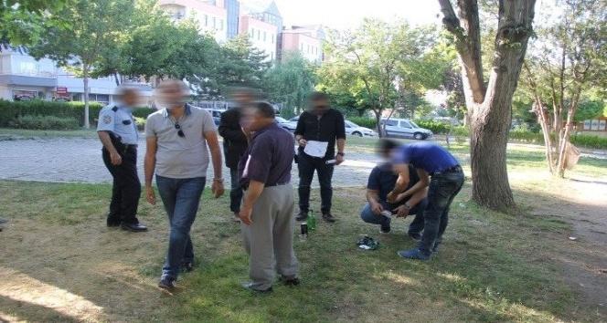 Nevşehir'de huzurlu parklar uygulaması yapıldı