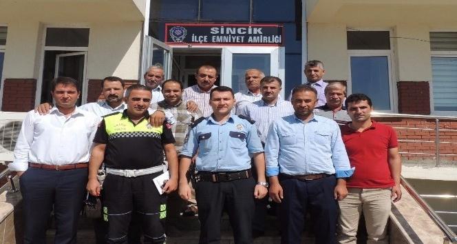 Sincik'te okul güvenliği toplantısı yapıldı