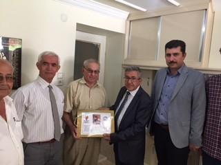 AK Parti Burdur, yaşlıları unutmadı