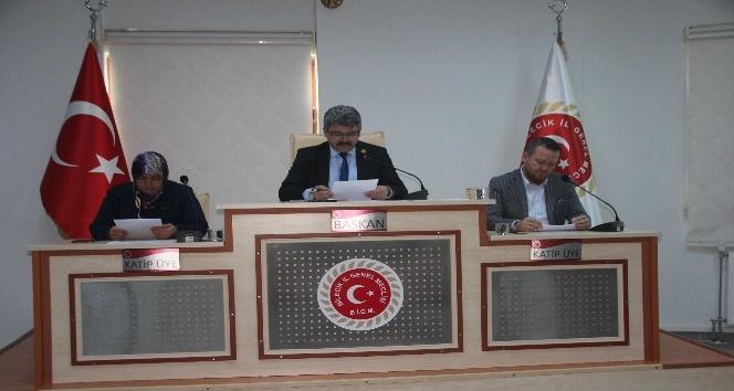 İl Genel Meclisi Ekim ayı 1'inci birleşimi