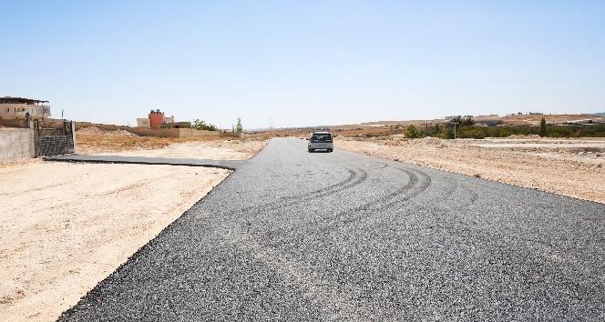 Şehirgösteren'de açılan yollar asfaltlanıyor