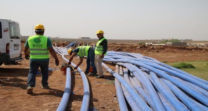 Viranşehir'in su sorunu çözülüyor