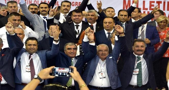 MHP Mersin İl Başkanı Gölgeli yeniden seçildi