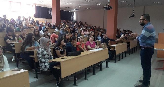 Nazilli Sağlık Hizmetleri MYO öğrencileri oryantasyon eğitiminde buluştu